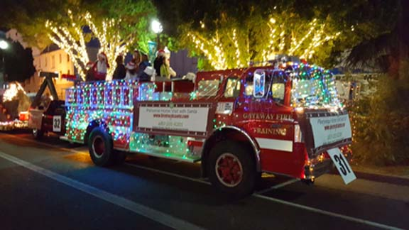 Fire Truck at Parade